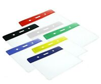 Coloured Vinyl Landscape ID Identity Photo Card Holder - 1 2 5 10 25 50 or 100