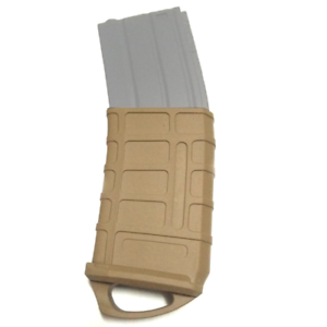 Sabre Tactical Fast Magazine Rubber Holster 5.56 Mag Tatical Rubber Pouch Tan