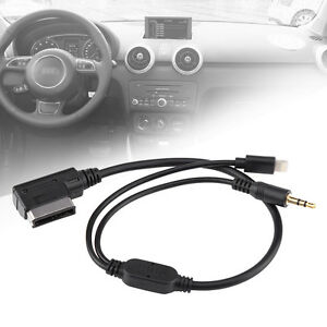 car ami mdi mmi mp3 aux cable adaptor for iphone 5. Black Bedroom Furniture Sets. Home Design Ideas