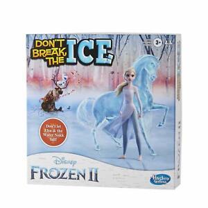 Don't Break the Ice Frozen II Edition Hasbro Games Elsa Water Nokk Ages 3+