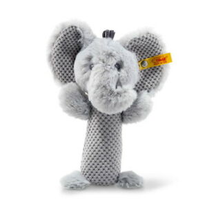 NEW-STEIFF-BABY-ELLIE-ELEPHANT-RATTLE-Grip-Toy-Steiff-Ideal-Gift-240768