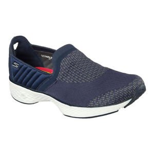 Loafer Skechers Go Sport Neu Damen Walking Blau Sneakers Walk Slipper Fitness fIfRO0q