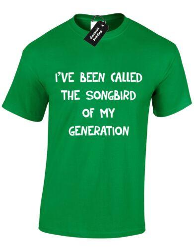 Ive été appelé le songbird mens t shirt catalina batterie bateaux /& houes prestige