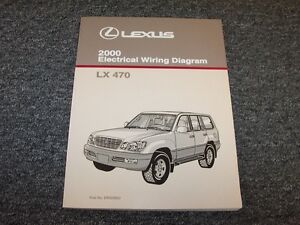 image is loading 2000-lexus-lx470-suv-factory-original-electrical-wiring-