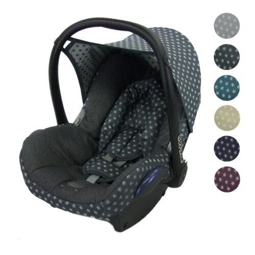 BAMBINIWELT Ersatzbezug Bezug für die Babyschale Maxi-Cosi Cabrio Fix STERNE
