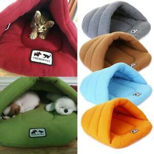 Pet-Cat-Dog-Nest-Bed-Puppy-Soft-Warm-Cave-House-Winter-Mat-Pad-Bag-Sleeping-H3M7