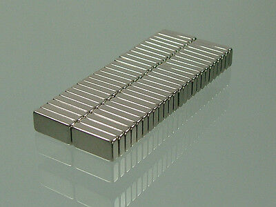 50pcs N52 block 10*5*2mm rare earth neodymium permanent super strong magnets