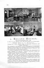 1912 5 Roland Houses South Kensington Mr Roberson School Ad