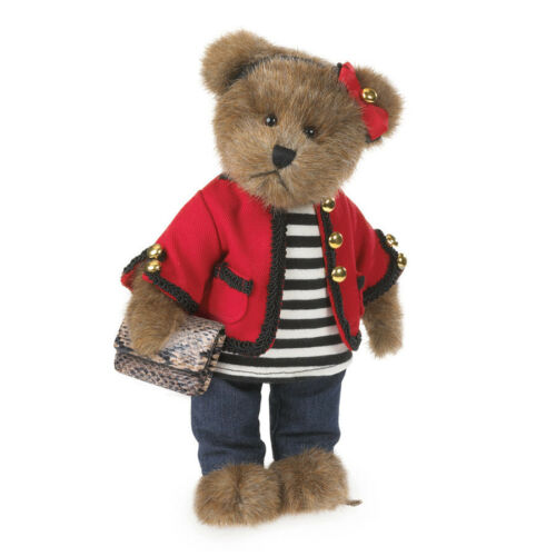 "Boyds Bears Parisian 10/"" Coco de Bearvoir Bear Plush ~ 4038160"
