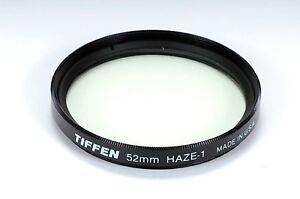 Tiffen 52mm HAZE-1 Glass Filter USA 16593