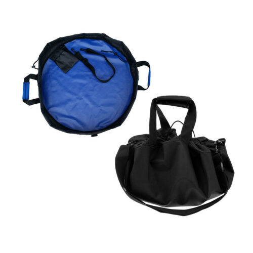 2Pc Surf Changing Mat Wetsuit Handle Straps Nylon Waterproof Bag Beach Pouch