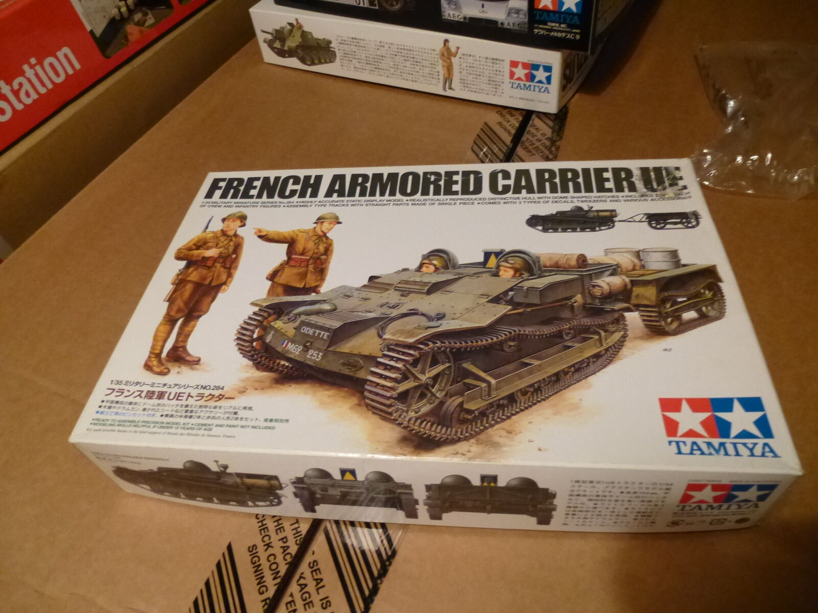 Tamiya 1 35 French Armored Carrier UE