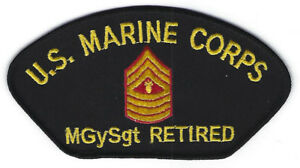 3b93db0fd8c Image is loading MASTER-GUNNERY-SERGEANT-MGYSGT-HAT-PATCH-US-MARINES-