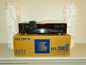 Sony DTC-59ES High-End DAT-Recorder Schwarz in OVP inkl. FB&BDA, 2J. Garantie