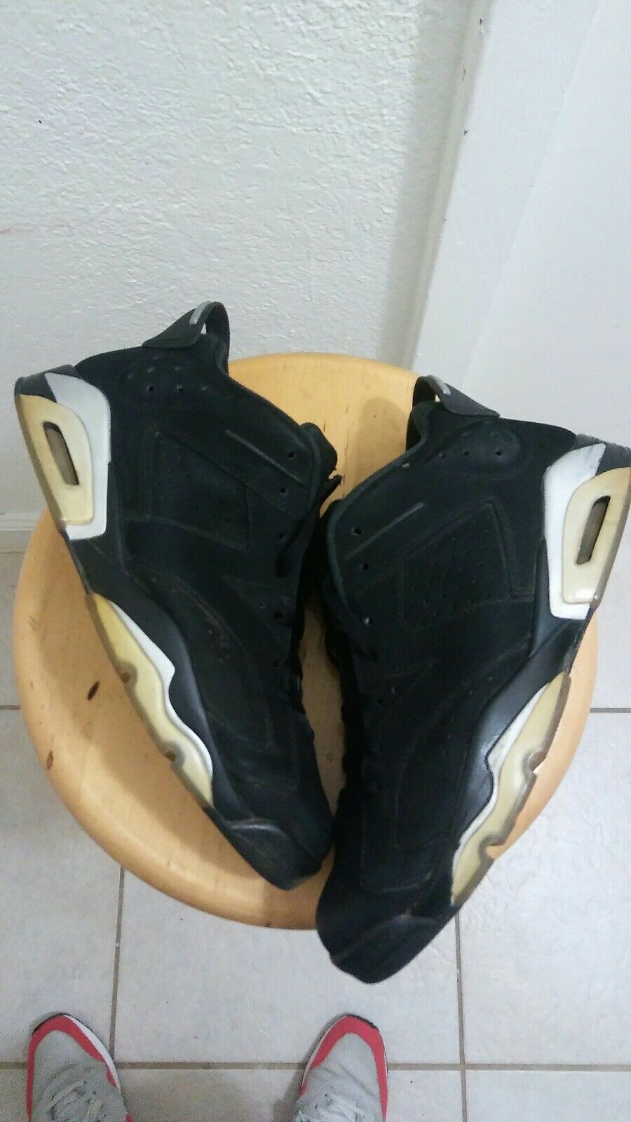 Air Jordan Retro 6 Low Chrome Size 11