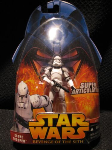 STAR WARS 2005 Revenge of the Sith Clone Trooper # 41