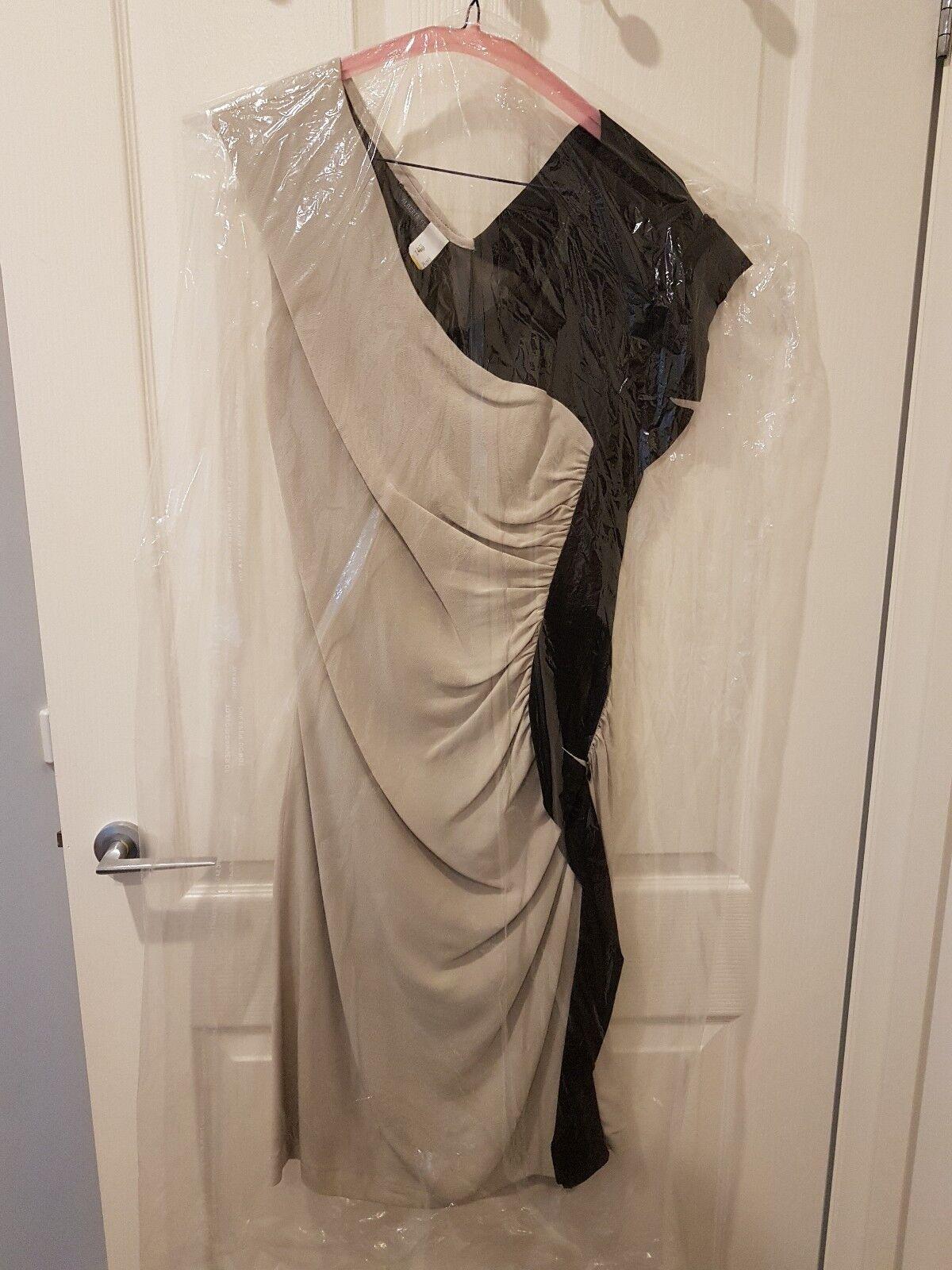 AEFFE Spa designer Silk Dress Sz 8