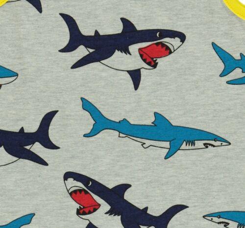 Smafolk sous-vêtements Set 2 pcs Greymelange requin Print Multicolore Taille 92-128