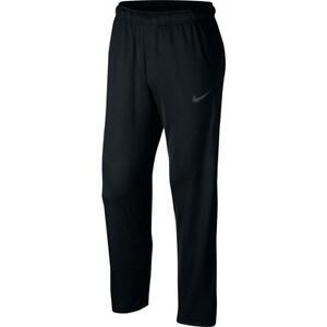New! Mens Nike Epic Knit Open Hem Blck Athletic Pants!!