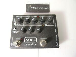 MXR M80 Bass D.I. Preamp EQ w/ Distortion Effects Pedal Free USA Shipping
