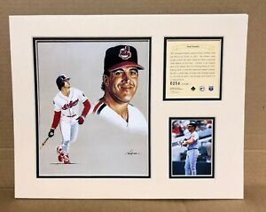 Cleveland Indians Paul Sorrento 1995 Baseball 11x14 MATTED Kelly Russell Print