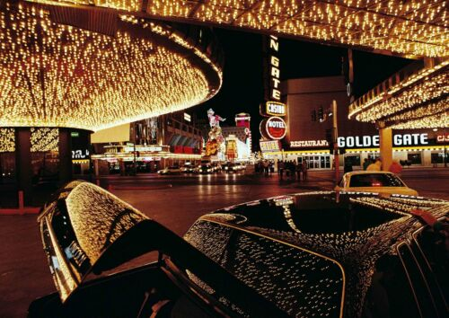 Nevada Casino City Poster Picture Print Size A5 to A0 *FREE DELIVERY LAS VEGAS