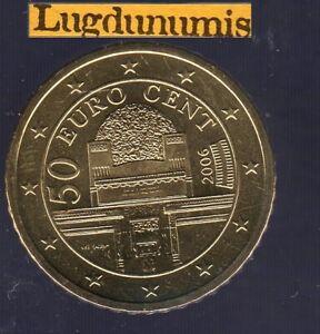 Autriche 2006 50 centimes d'euro SUP SPL Pièce neuve de rouleau - Austria