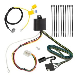 Details about Trailer Wiring Harness Kit For 16-18 Mitsubishi Outlander on toyota trailer wiring harness, nissan trailer wiring harness, honda trailer wiring harness, gmc trailer wiring harness, land rover trailer wiring harness, volvo trailer wiring harness, audi trailer wiring harness,