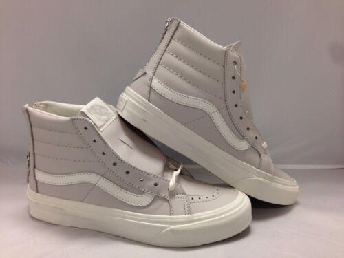 blanc Cremallera Pupple Vans hi Sk8 Claro Hombre Blanco Zapatos wqnE1O8