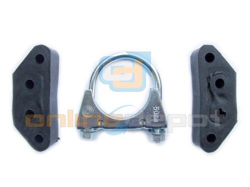 Montagesatz Endtopf SEAT IBIZA I 0.9,1.2,1.5,1.7D Schrägheck 84-93 Anbausatz