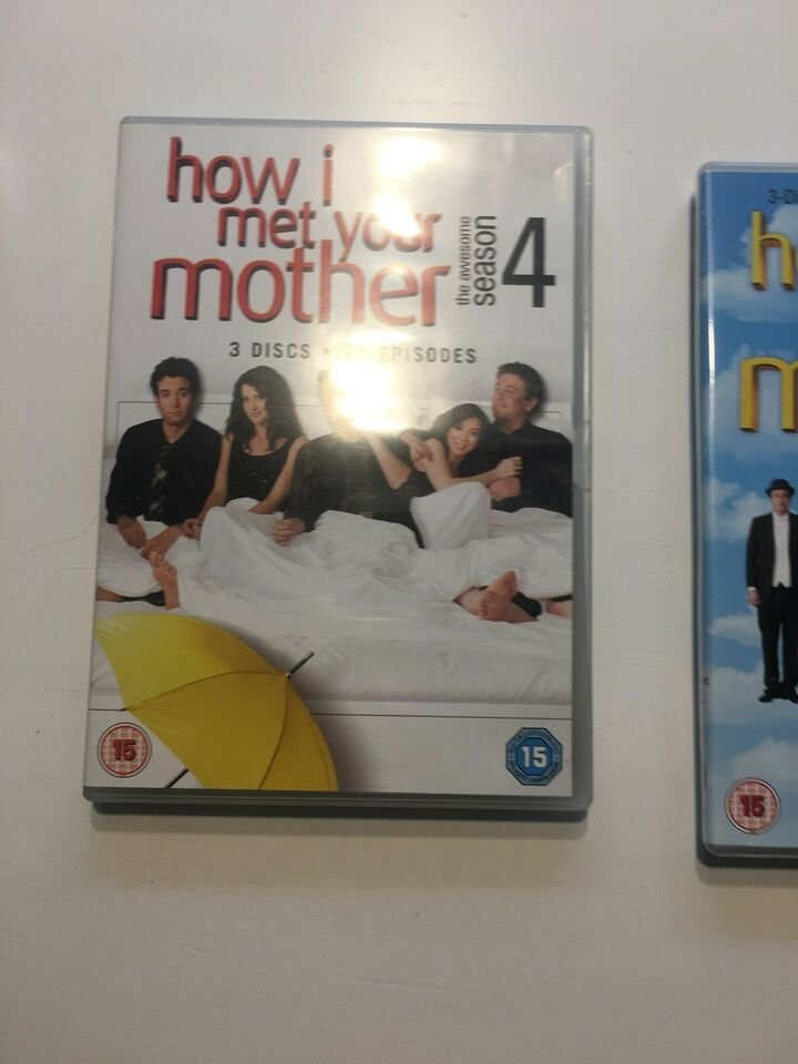 How I Met Your Mother sæson 1-6, DVD, komedie