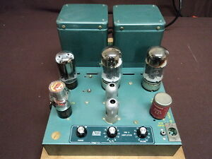 Altec-350A-Vintage-Monoblock-Tube-Amplifier-6550-40-Watts-NEW-PRICE