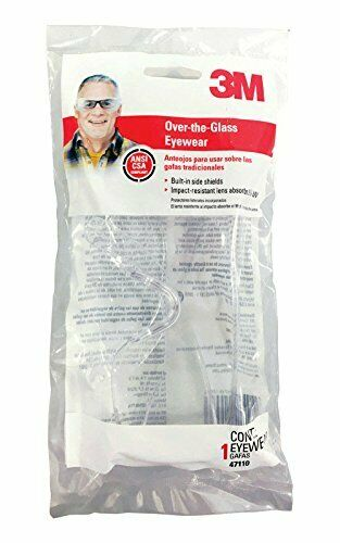 3M 47110-WV10 Clear Safety Glasses