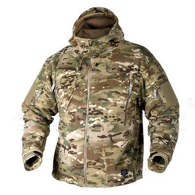 HELIKON TEX PATRIOT FLEECE TACTICAL RECON CAMOGROM SPEC OPS ARMY COLD WEATHER