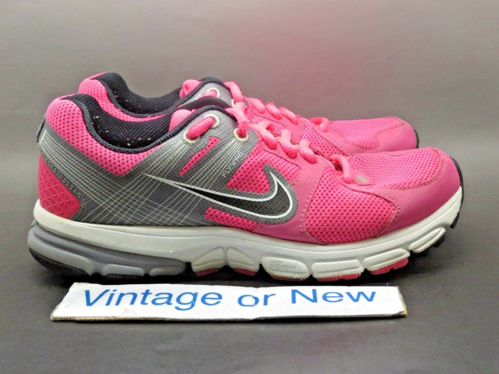 Women's Nike Zoom Structure+ 15 Pink Grey Black Running Shoes 472506-601 Price reduction The latest discount shoes for men and women