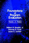 Foundations of Program Evaluation: Theories of Practice by Thomas D. Cook, Jr., William R. Shadish (Paperback, 1990)