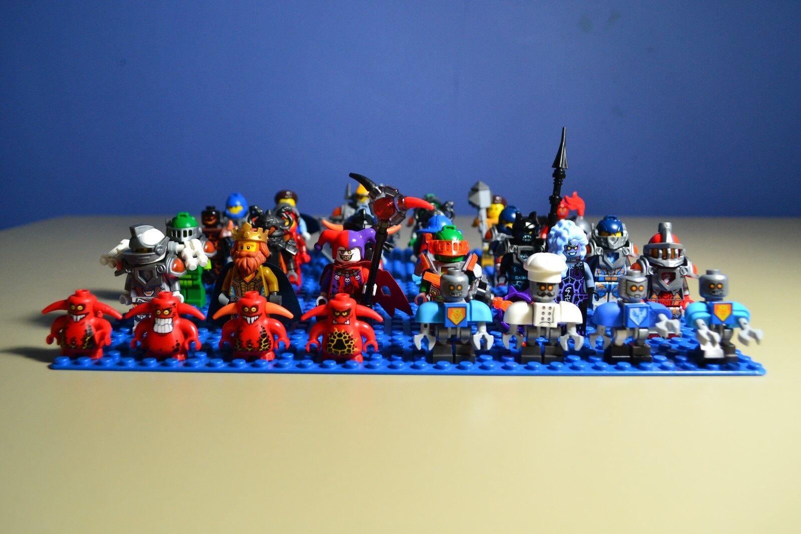 Lego Nexo Knights  Minifigures Lot