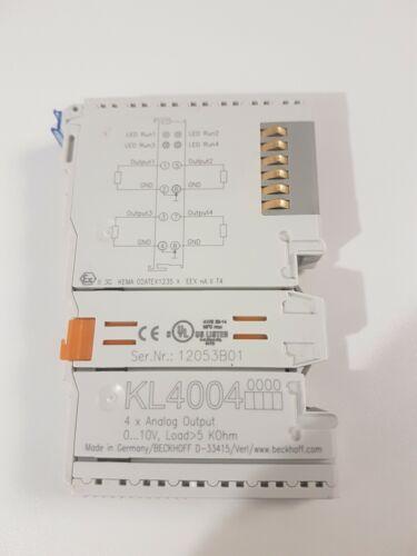 Beckhoff kl4004 4-canal-Analog-salida borna 0.. 10 V