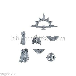 SH15-ICONES-SCEAUX-x7-OFFICIER-SPACE-MARINE-WARHAMMER-40K-BITZ-COMMANDER