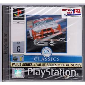 PLAYSTATION-1-SPORTS-CAR-GT-CLASSICS-VALUE-SERIES-PAL-PS1-BRAND-NEW-SEALED-BN