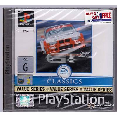 PLAYSTATION 1 SPORTS CAR GT CLASSICS VALUE SERIES PAL PS1 BRAND NEW SEALED [BN]