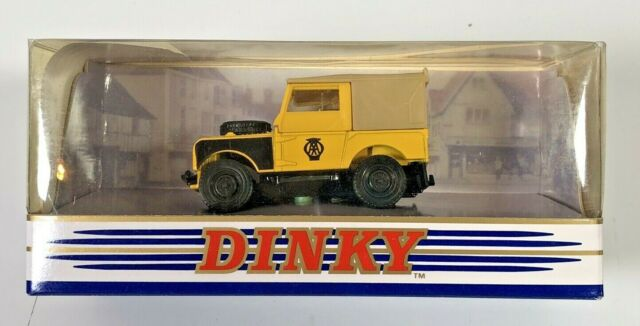 """Matchbox Dinky DY9-B Land Rover Series 1 80"""" AA ROAD SERVICE Vehicle , Boxed"""