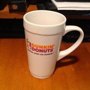 Dunkin Donuts Mug America runs on Dunkin Logo | eBay