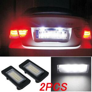 LED-license-number-Plate-Light-Lampada-Lampadine-per-BMW-E39-E60-E82-E70-E90-E92-X3-5-6