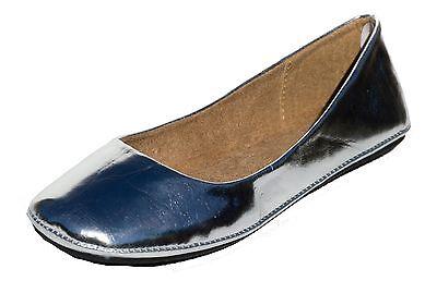 Women's Flat Ballet Ballerina Slip On Slipper Round Toe Casual Ladies shoes