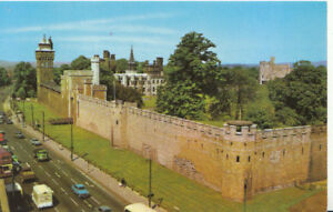 Wales-Postcard-The-Castle-Cardiff-Glamorgan-Ref-2349A
