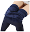 Women-039-s-FLEECE-LINED-LEGGINGS-Thick-Thermal-Solid-Warm-Winter-Long-Footless-New thumbnail 14