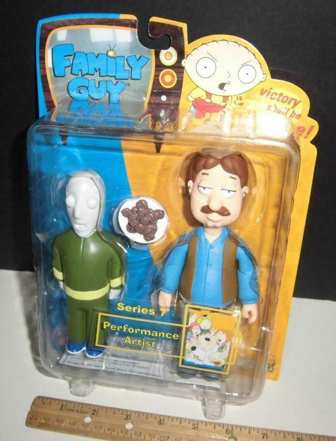 Family Guy Series 7 Perforuomoce Artist  Mezco  Rare 2007  Animated autotoon