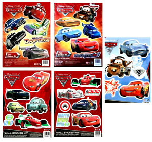 Disney Cars Wall Stickers Sheet Available In 5 Designs Sheet Size