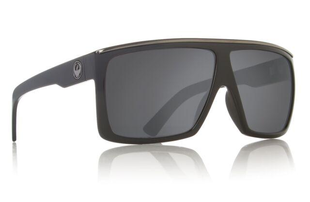 ce018abf087 Authentic Dragon Alliance Fame Sunglasses Jet Black Frame Grey Lens ...